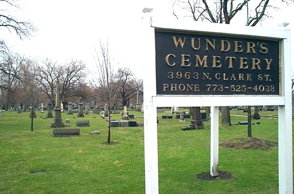 Wunder's Cemetery Chicago