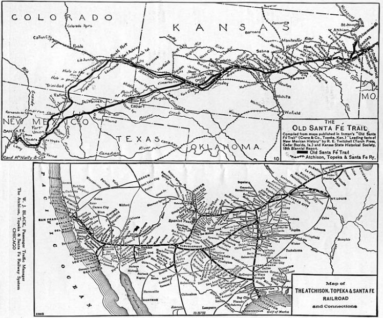 800px-Santa_Fe_Trail_and_Railroad_map,_1922