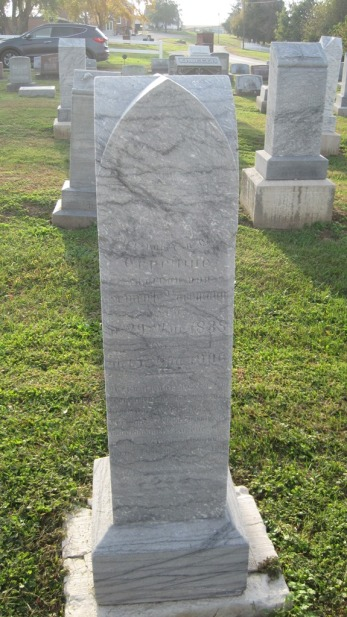 Ernestine Bachmann Tombstone