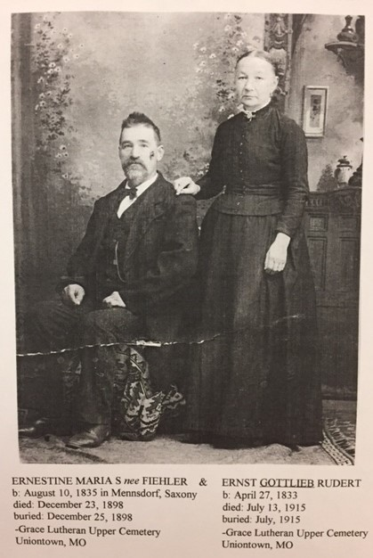 Gottlieb and Ernestine Rudert