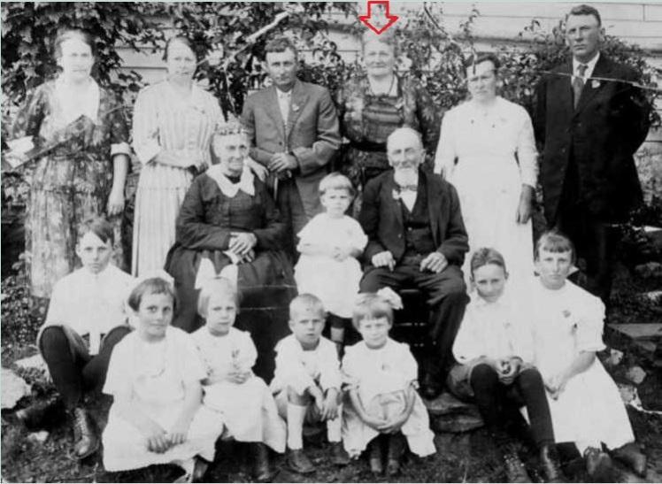 Grother family photo Amalia Egeling