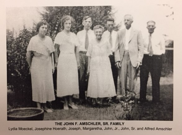 Johann Amschler family later