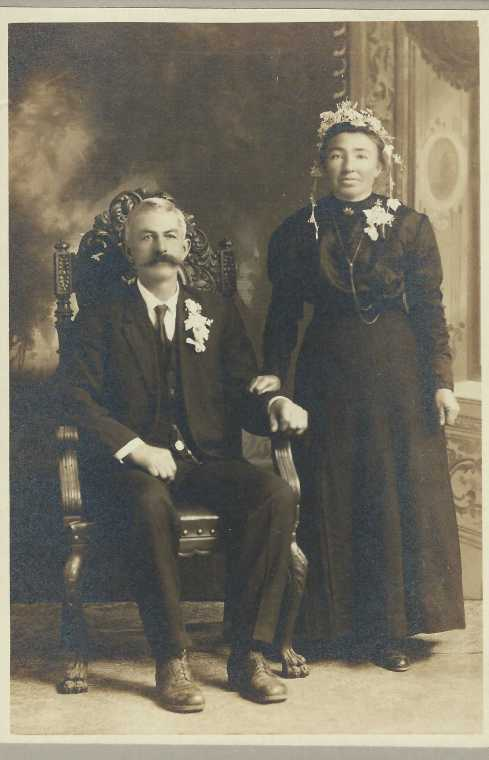 Johann and Margaretha Amschler 24th anniversary