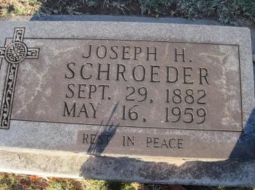 Joseph Schroeder gravestone Immanuel Altenburg