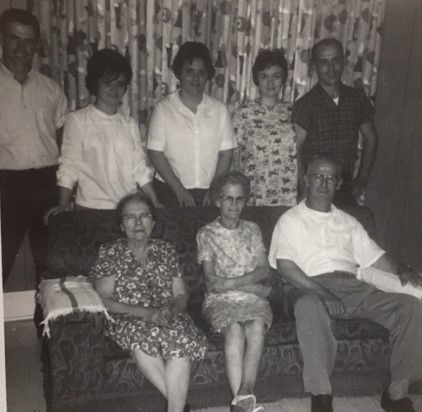 Oscar and Lorna Schlimpert family 1966