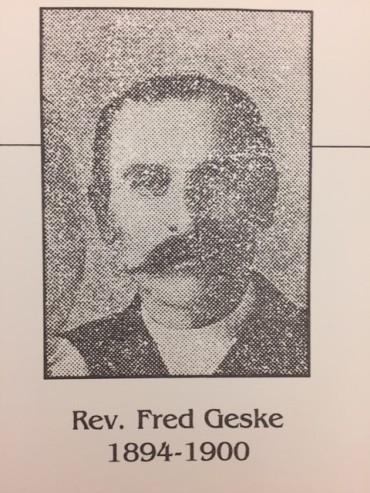Rev. Fred Geske Zion Pocahontas MO