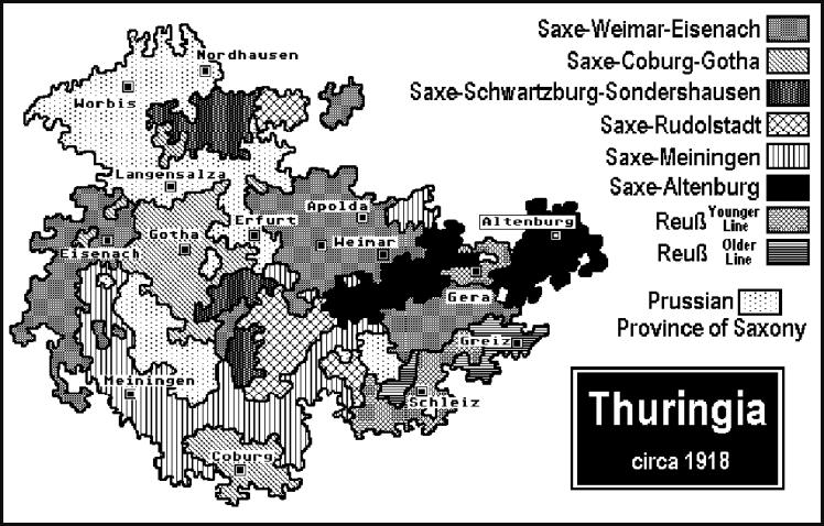 Thuringia 1918