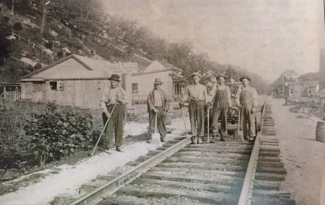 Wittenberg Railroad section crew