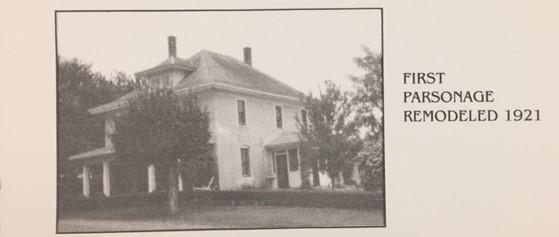 Zion Lutheran Pocahontas parsonage remodeled 1921