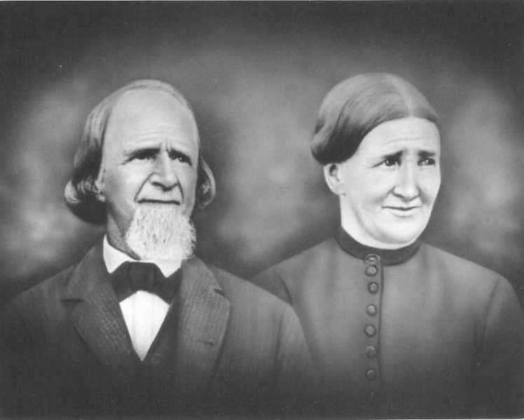 August and Justine Wilhelmine Lorenz