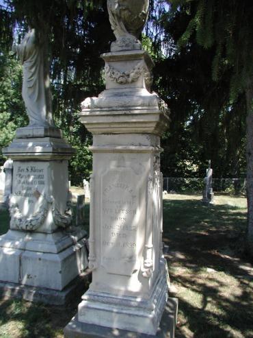 Franciska Litsch gravestone St. Boniface Perryville MO