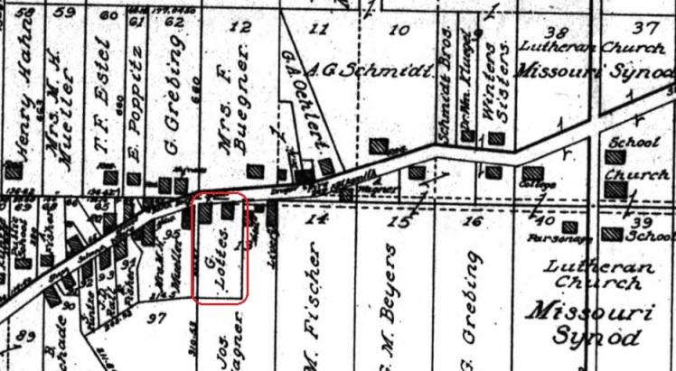 G. Lottes land map 1915