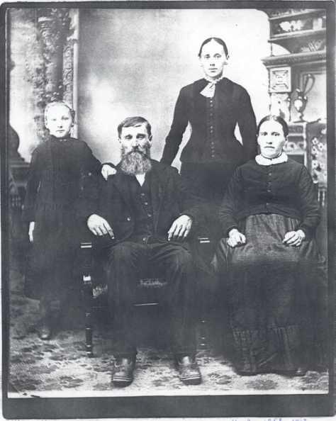 Gottlieb Kraml family photo