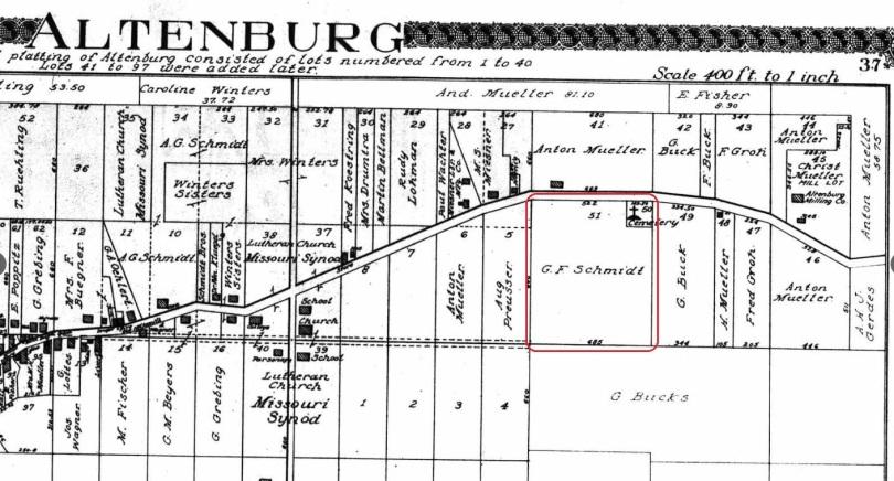 Gottwerth Schmidt land map 1915
