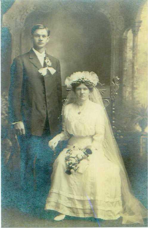 Hugo and Bertha Finger wedding