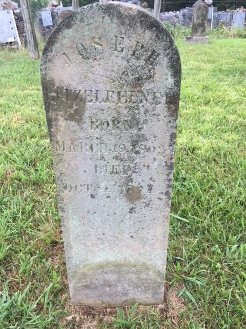 Joseph Litzelfelner gravestone New Jerusalem Pocahontas MO