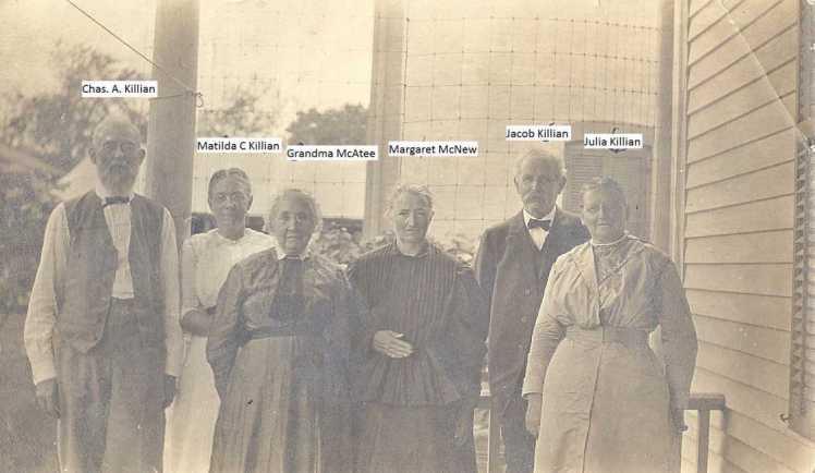 Killian family members