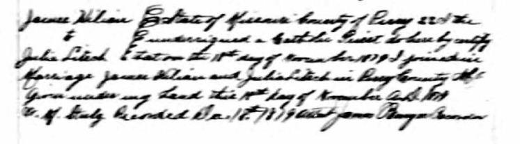 Killian Litsch marriage record