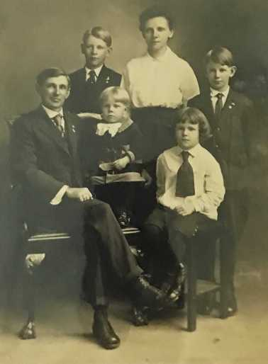 Paul B. Winter family