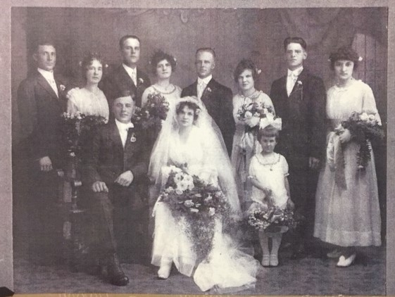 Walther Weinhold Hemmann wedding party