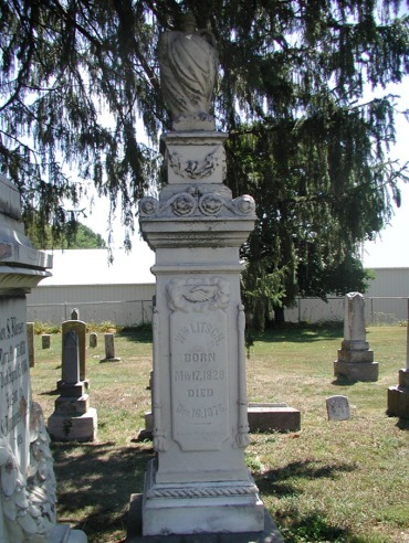 William Litsch gravestone St. Boniface Perryville MO