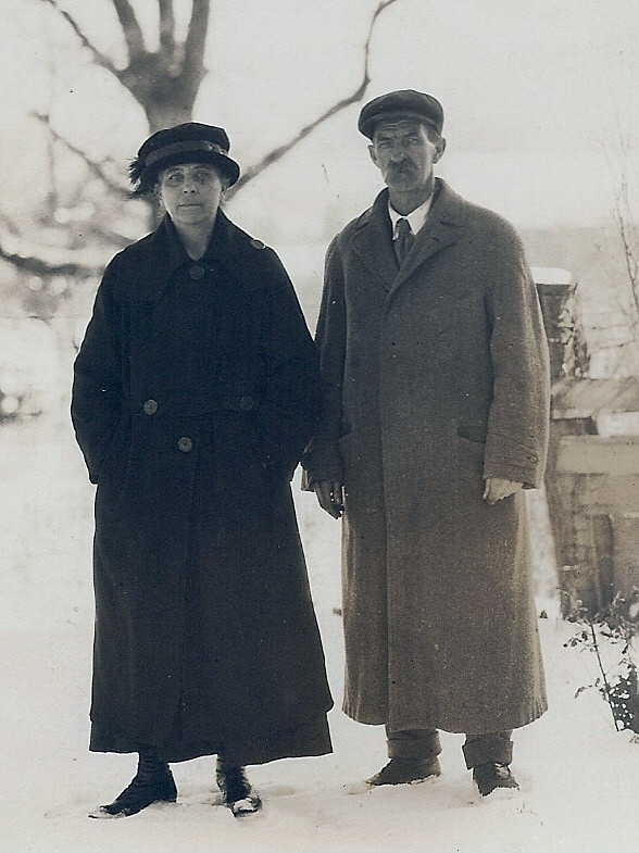 Emil and Emma Guth older