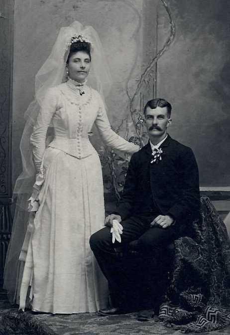 Emil and Emma Guth wedding