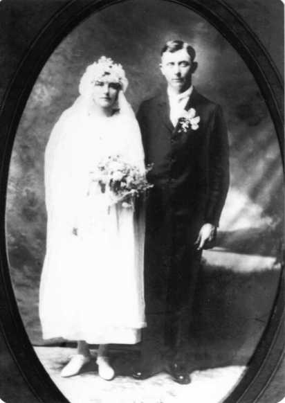 Erich and Sophie Mueller wedding