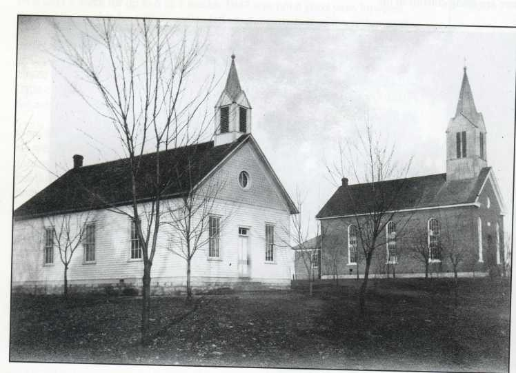Grace Lutheran Chruch and School Uniontown Built 1906