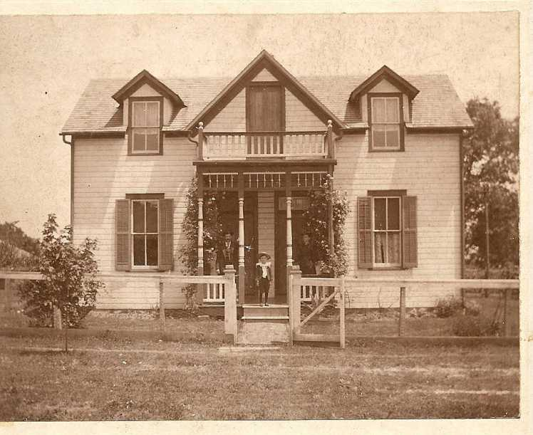Guth home Perryville June 3 1900