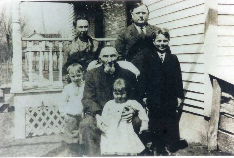 Henry and Anna Miesner family