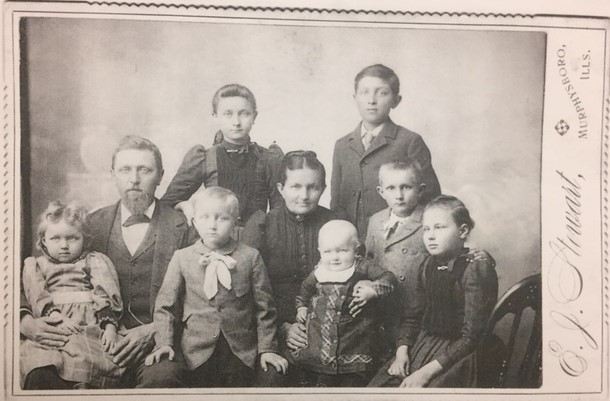 Henry and Caroline Arbeiter family photo 1