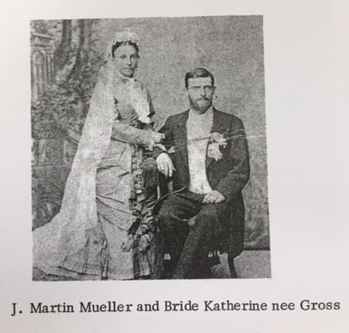 J. Martin and Katherine Mueller wedding