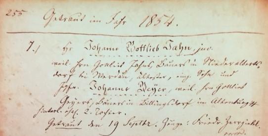 Jahn Geyer marriage record Trinity Altenburg