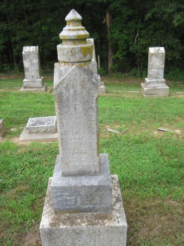 Sophia Seibel gravestone Concordia Frohna MO