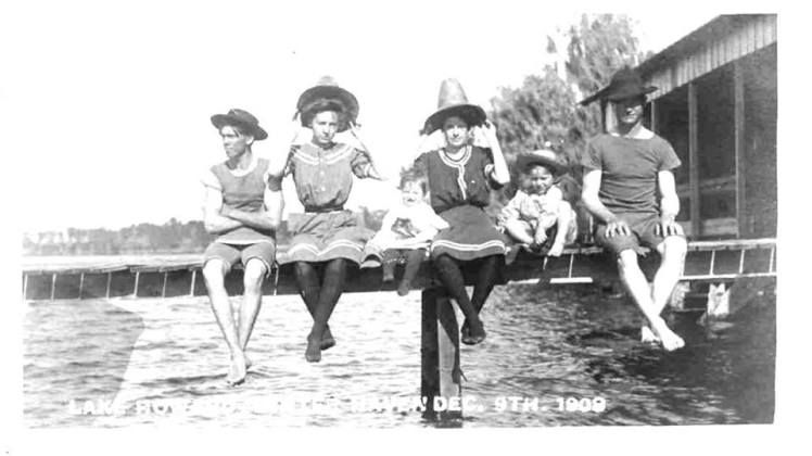 Swimmers Winter Haven FL 1909