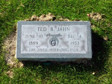 Theodore Jahn gravestone Winter Haven FL