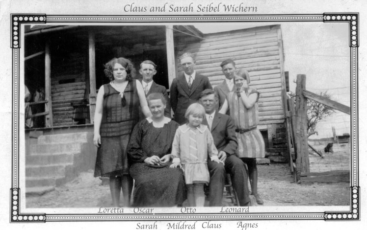 Claus Wichern family