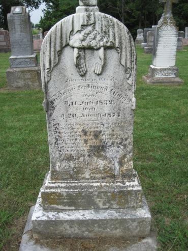 Ferdinand Fischer gravestone Concordia Frohna MO