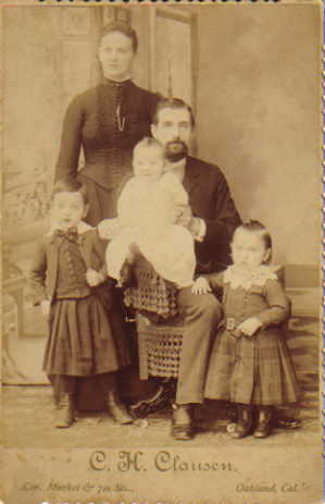 John George Theiss family