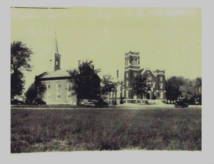 St. Paul's Lutheran Church Hamel IL 1931