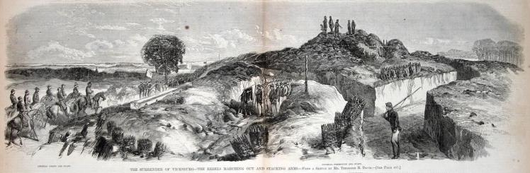 Surrender at Vicksburg