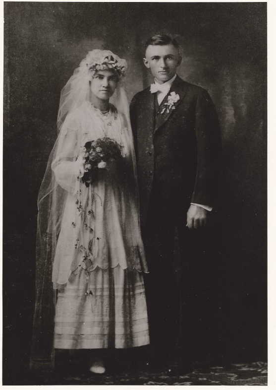Walter and Wilma Dickmann wedding