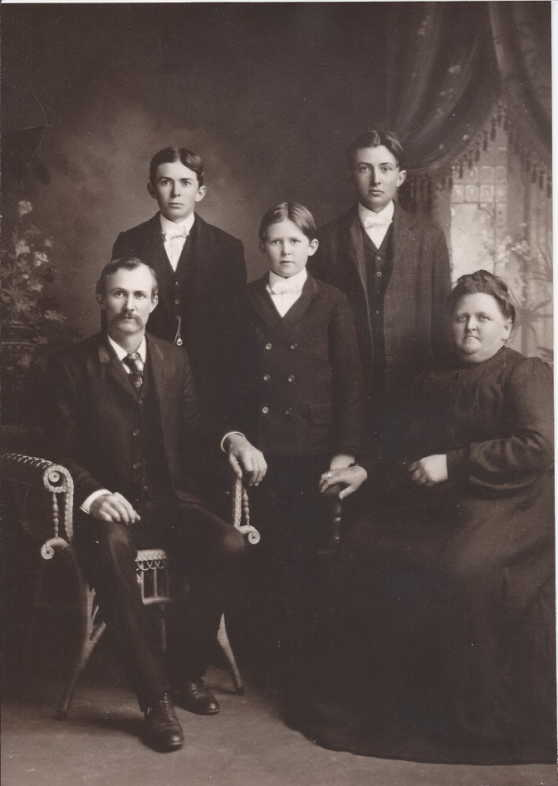 William Dickmann family