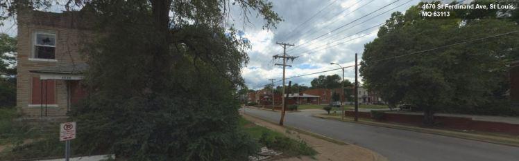 4670 St. Ferdinand Ave. St. Louis MO streetside