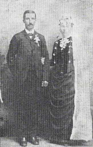 Edward and Mathilda Bachmann wedding