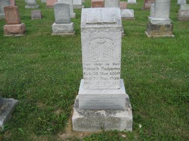 Edward Bachmann gravestone Salem Farrar MO