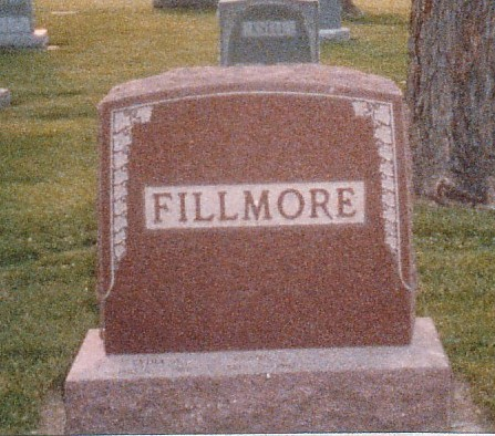 Fillmore gravestone Park Lawn St. Louis MO
