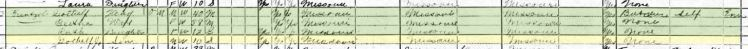 Gotthilf Frentzel 1920 census St. Louis MO