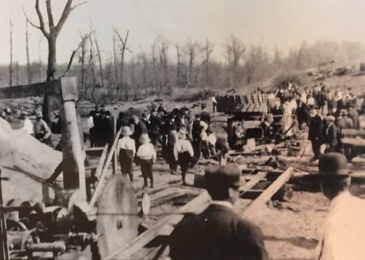 Kassel sawmill explosion 1919